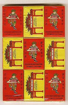 Chinatown Matchbooks Matches LA