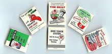 Texaco Gas Matchbooks