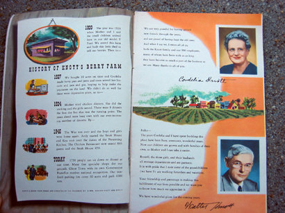 Old Vintage 1960 KNOTTS BERRY FARM GUIDE