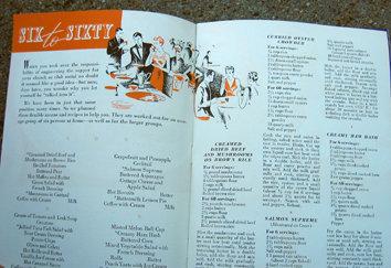 Old Vintage SEALTEST RECIPE booklet 1939