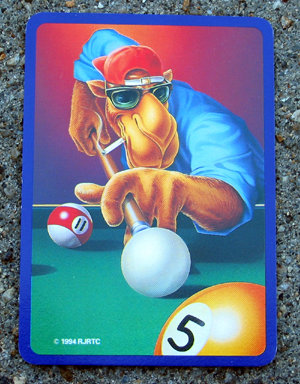1994 vintage JOE COOL CAMEL playing card