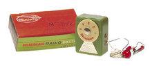 old vintage MINIMAN GERMANIUM crystal radio