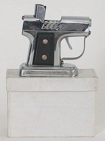 old vintage 1950s OCCUPIED JAPAN pistol lighter