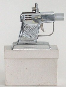 old vintage OCCUPIED JAPAN Pistol Lighter