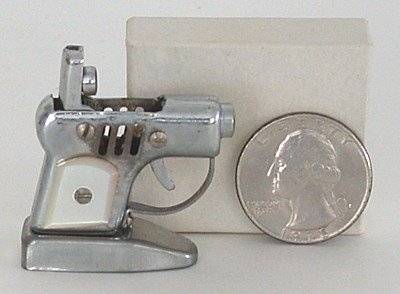old vintage TINY OCCUPIED JAPAN pistol lighter