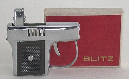 old vintage BLITZ Japan Lighter 1950s IN BOX