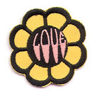 old vintage 1960s DAISY FLOWER POWER love patch