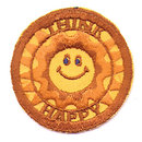 old vintage HAPPY SUNSHINE LOVE PATCH