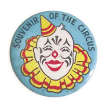 old vintage SOUVENIR OF CIRCUS pinback button