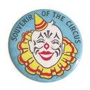 old vintage SOUVENIR OF CIRCUS pinback button