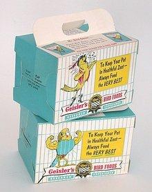 Geisler's Parakeet Box