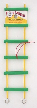 old vintage BIRD TOY LADDER toy 1950s
