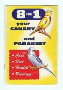 old vintage 1960 PET BIRD CARE book LIC NY