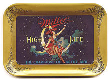 Miller Beer Tin Tip Tray