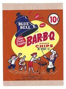 Blue Bell Potato Chip Snack Bags