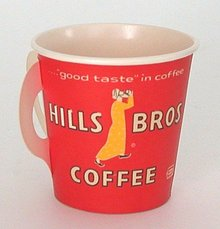 Hills Brothers Coffee Dixie Cup