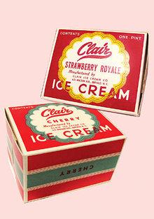 Clair Ice Cream Carton Containers
