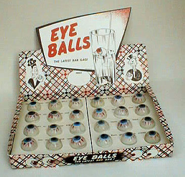Floating Eye Ball Toy Joke Novelty Store Display