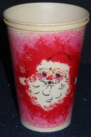 Santa Claus Wax Cup