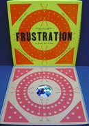 old vintage 1964 FRUSTRATION BOARD GAME