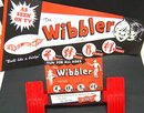 old vintage 1960 WIBBLER WALKER TOY w poster