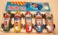 Tin Race Car Toys Japan