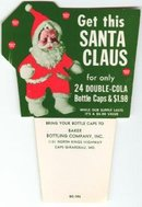 Double Cola Santa Claus Ad Hangar Sign