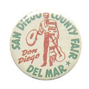 San Diego County Fair Pinback Pin