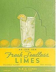Aksarben Lime Sign