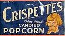 Crispettes Popcorn Sign
