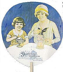 old SHADY LAWN CREAMERY-BIRELEY'S soda fan