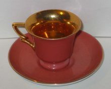 old vintage LEFTON DEMI CUP and SAUCER