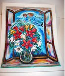 ANGELS BLOOM signed SERIGRAPH ~ meilichson