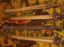 old vintage 1930s WOOL MILL BOBBIN long spindle