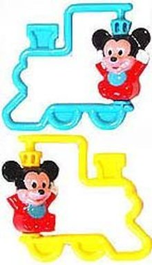 Mickey Mouse Baby Rattles