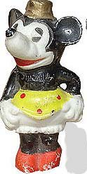 Minnie Mouse Bisque figure