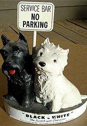 Scotty Dog Bartop Statue
