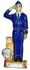 Ezra Brooks Figural Liquor Decanter