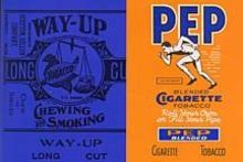 Pep Sports Tobacco Labels