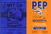 Pep Sports Tobacco Labels