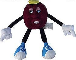 vintage 1988 CALIFORNIA RAISIN PLUSH fruit doll