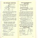 vintage ITW ILLINOIS TOOLS TRIGONOMETRY BOOKLET