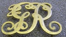 Virginia Metalcrafters trivet Brass