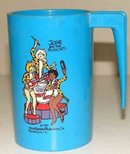 old vintage JOSIE & THE PUSSYCATS DRINK CUP