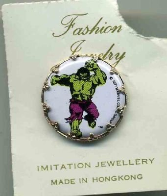 Incredible Hulk Pin Mint on card
