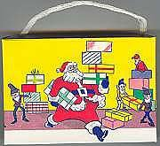 Santa Claus Holiday Candy Box