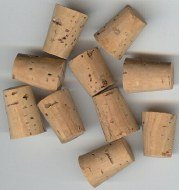 10 old vintage 1890 MEDICAL CORKS