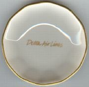 old vintage DELTA AIR LINES NUT DISH 1970S