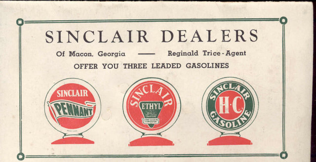 Sinclair Gas Premium Booklet