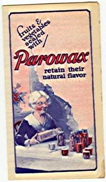 Early SOHIO gas Parowax Pamphlet
